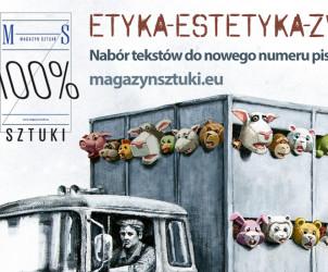 Etyka-estetyka-zwierzęta: nabór tekstów | Magazyn Sztuki | AnimalStudies.pl