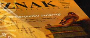 ZNAK - O cierpieniu zwierząt - AnimalStudies.pl